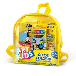 Kit De Colorir - Acrilex 40021
