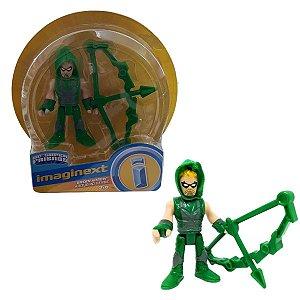Boneco Arqueiro Verde - Dc Super Friends -  Imaginext