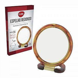 Espelho Redondo Com Suporte 15cm - Clink