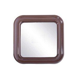 Espelho Quadrado Com Moldura- Docesar