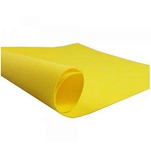 10 Folhas De E.V.A Amarelo - LeoArte