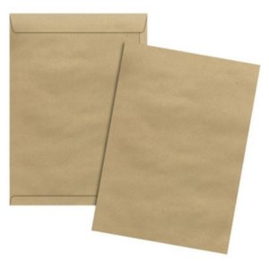 Envelope Pardo Com 50 Tamanho A5