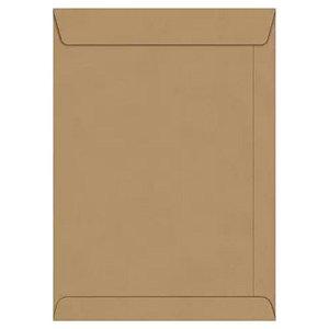 Envelope Pardo Com 50 Tamanho 23x32cm