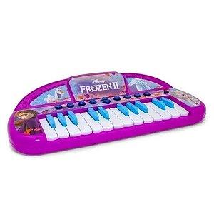 Teclado Infantil Musical Frozen 2 - Toyng