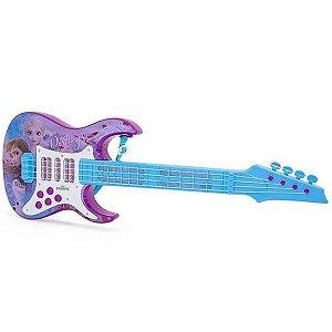 Guitarra Infantil Elétrica Frozen II- Toyng