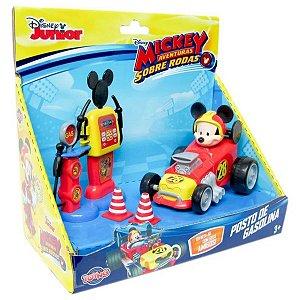 Disney Mickey Aventuras Sobre Rodas Posto De Gasolina - Toyng