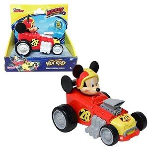 Carro De Corrida Do Mickey Hot Rod Disney - Toyng