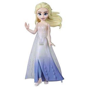 Mini Boneca Básica 10 Cm - Frozen 2 - Elsa Aventura - Hasbro