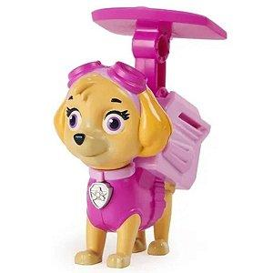 Boneco Patrulha Canina Pack De Ação Skye - Sunny