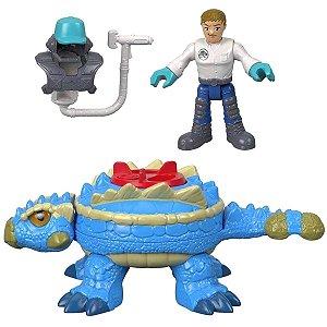 Figura Imaginext Jurassic World - Anquilossauro - Mattel