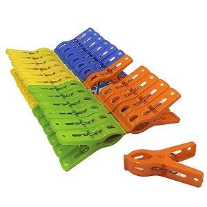 Prendedor De Roupa Plástico 48 Und - Clink