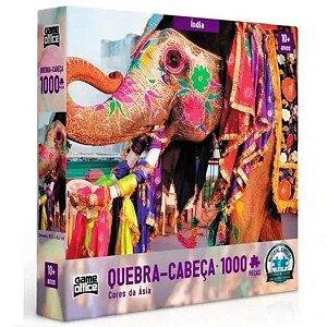 Quebra Cabeça 1000 Peças Cores Da Ásia Toyster 2635