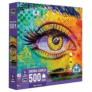 Puzzle Quebra Cabeça Olhar Urbano 500 Peças Toyster 2726