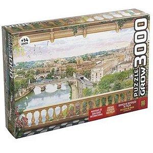 Quebra Cabeça Puzzle 3000 Peças Varanda Em Roma Grow 3941