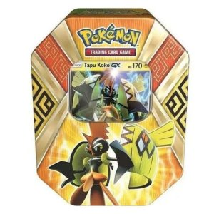Pokemon Lata Guardiões Das Ilhas Tapu Koko