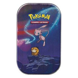 Cartinhas Latinha Pokémon Mew / Psyduck Poder De Kanto Novo
