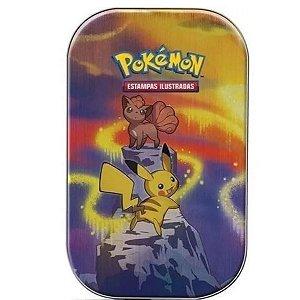 Mini Lata Poderes De Kanto Copag Cards Pokemon Pikachu