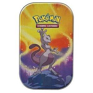 Mini Lata Poderes De Kanto Copag Cards Pokemon MEWTWO