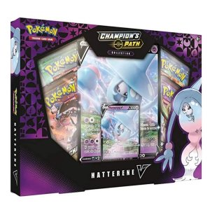 Box Pokémon Coleção Caminho Do Campeão - Hatterene V