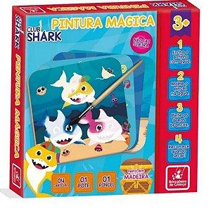 Kit Pintura Mágica Club Shark- Brincadeira De Criança
