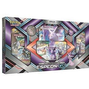 Pokemon Box Coleção Premium Umbreon Ou Espeon Gx