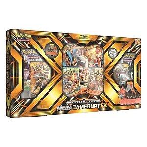 Box Pokémon Mega Camerupt EX Coleção Premium