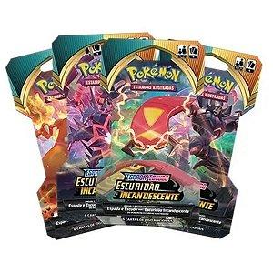 Caixa fechada Pokémon 24 Booster Escuridão Incandescente 144 cartas