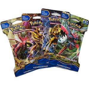 Pokémon 4 Booster Turbo colisão xy Sortidos