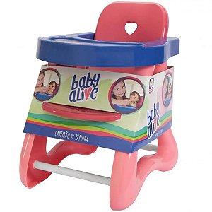 Cadeirão De Papinha Baby Alive - Cotiplás