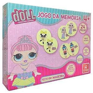 Jogo Da Memória Doll Collection Fashion - Brincadeira De Criança