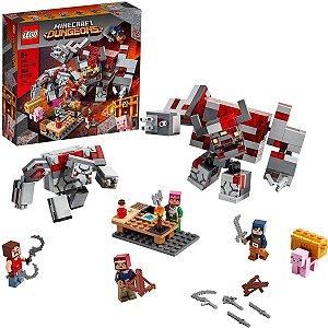 Lego - Minecraft - O Combate de Redstone 21163