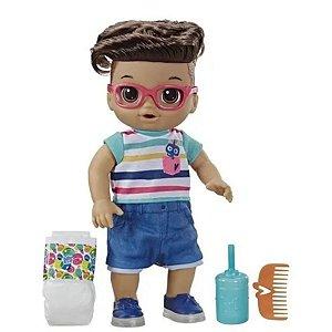 Baby Alive Primeiros Passinhos - Menino Moreno - Hasbro