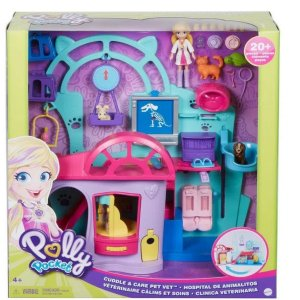 Clínica Veterinária Polly Pocket - Mattel