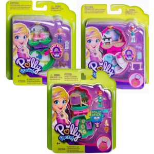 Kit Com 3 Polly Stick  Polly Poket - Mattel