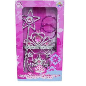 Kit Beleza 4 Peças Princesas Fashion - Zoop Toys
