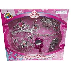 Kit Beleza 7 Peças Princesas Fashion - Zoop Toys