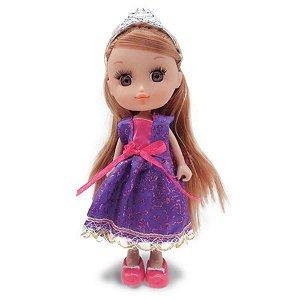 Boneca Mini Princesas Mágicas Roxa - Zoop Toys