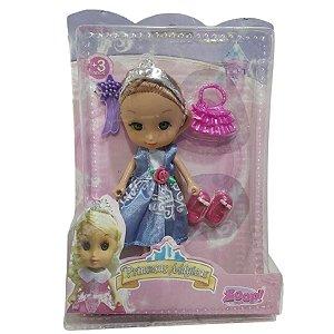Boneca Mini Princesas Mágicas Azul - Zoop Toys