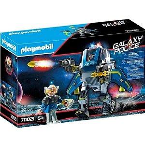 Playmobil Galaxy Police Robo Da Policia Galactica 70021