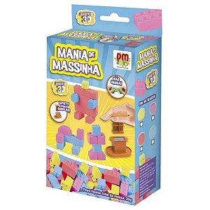 Mania de Massinha Efeito 3D - Dm Toys