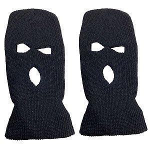 Kit com 2 Gorros Touca Ninja Motoqueiro
