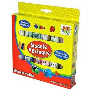 Modele e Brinque Massa de Modelar -  Dm Toys