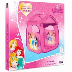 Barraca Portátil Princesas - Zippy Toys