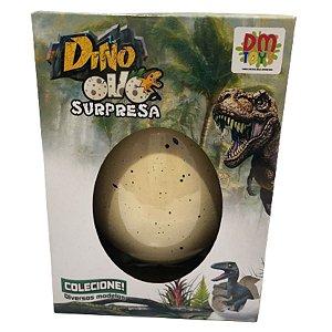 Ovo Dinossauro Surpresa Nasce Na Água 11cm Dino Grande