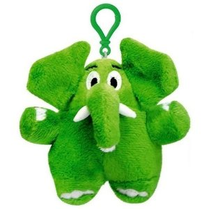 Chaveiro Pelúcia Elefante Verde Jotalhão Turma Da Mônica
