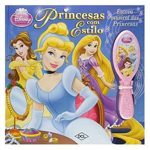 Princesas com Estilo Escova Musical das Princesas Disney