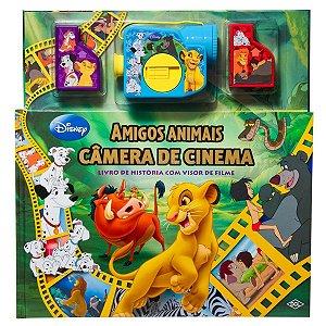 Livro Amigos Animais - Livro De História Com Visor De Filme