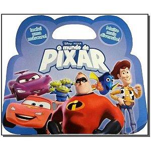 kit de Livros - O Mundo De Pixar - Coleção Maleta Disney