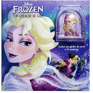 Livro Disney Frozen - Um Coracao De Gelo