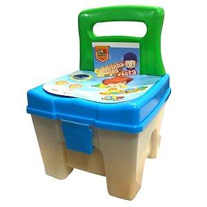 Cadeira Infantil Pequeno Motorista Com Blocos Grandes - Bell Toy